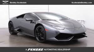 used lamborghini huracan 2016 used lamborghini huracan coupe for sale in az