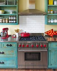 Red And Yellow Kitchen Ideas Country Living Magazine Shoot Jolie Sikes Kitchens