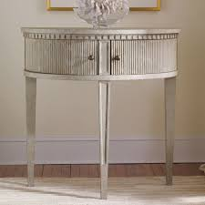 Half Circle Accent Table Gustavian Half Table Nasafi Grayce El This Would