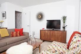 Modern Rustic Living Room Midcentury Living Room San - Modern living room furniture san francisco