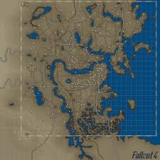 Fallout New Vegas Full Map by Color Map 4k 2k With Bobblehead And Armor Locations At Fallout 4