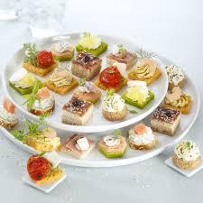 canap sal froids produits traiteurs verrines ou petits fours lesquels choisir