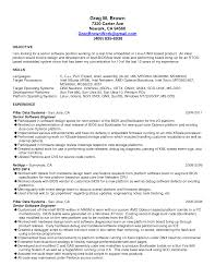 Best Resume Format For Fresher Software Engineers by Resume Format For System Engineer Resume For Your Job Application