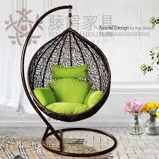 Rattan Swing Bench Casual Rattan Furniture Rattan Rocking Chair Bird Nest Hanging