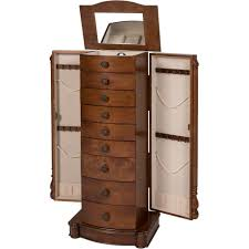 Large White Jewelry Armoire Bedroom Fabulous White Jewelry Armoire Under 100 Black Armoire