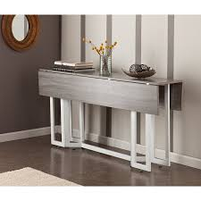 amazon com holly u0026 martin driness drop leaf console dining table