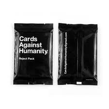 buy cards against humanity cards against humanity reject pack brainhackr
