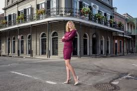 new orleans french quarter high senior portrait
