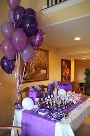 90th Birthday Centerpiece Ideas by Best 25 Purple Birthday Parties Ideas On Pinterest Purple
