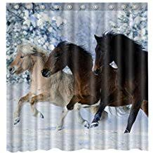 Horse Shower Curtains Sale Amazon Com Horse Shower Curtain