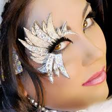 Professional Theatrical Makeup Amazon Com Angel Costume Temporary Eye Art Silverwing Xotic Eyes