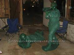 Army Guy Halloween Costume Coolest Homemade Green Army Man Halloween Costume Idea Army Men