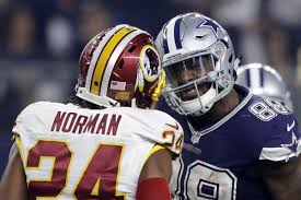 dez bryant and josh norman s feud couldn t come at a better