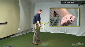 square to square driver swing square your clubface with the palm down drill the golftec scramble