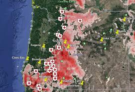 Google Maps Medford Oregon by Oregon Smoke Map At 3pm U2013 News Lincoln County