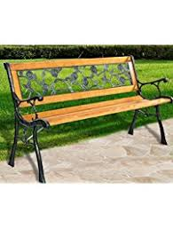 Park Benches For Sale Amazon Com Benches Patio Seating Patio Lawn U0026 Garden