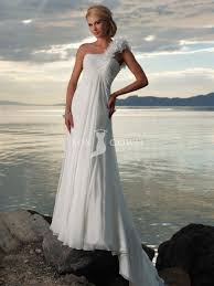 one shoulder beach wedding dresses pictures ideas guide to