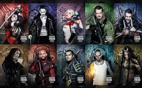 Slipknot Flag Bilder Squad 2016 Will Smith Joker Held Harley Quinn Held