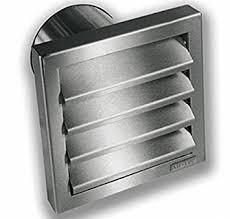 grille hotte cuisine extracteur hotte extérieur grille ø 125 mm mur boîte en acier