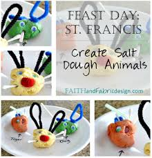 feast of saint francis craft for kids u2013 faith and fabric