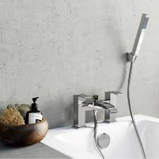 enki cascade square design bath filler shower basin mixer bath tap enki cascade square design bath filler shower basin