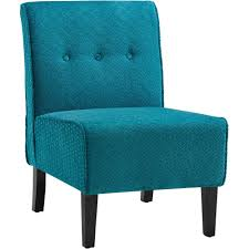 Blue Accent Chairs For Living Room by Chair Transitional Bedroom Design With Turquoise Tufted Accent