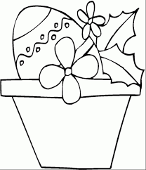 flower pot coloring page pertaining to really encourage in