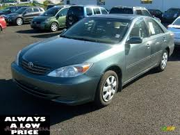 2004 toyota camry le price 2004 toyota camry le in aspen green pearl 289843 autos of