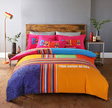 King Size Brushed Cotton Duvet Covers Rainbow Striped Brushed Cotton King Size Bedding Sets Striped And