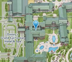 disneyland california adventure map disney s grand californian hotel spa disneyland resort