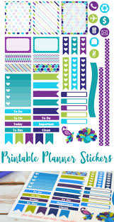 erin condren life planner free printable stickers free purple peacock printable planner stickers for septmeber erin