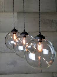 glass globe pendant light triple glass globe pendant u2026 pinteres u2026