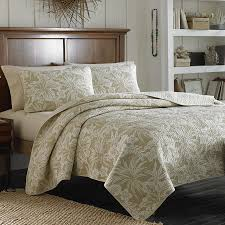 Tommy Bahama Comforter Set King Tommy Bahama Hanalie Hibiscus Neutral Quilt Bedding Pinterest