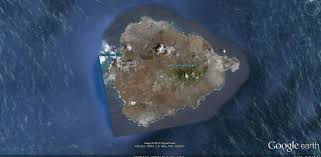 Sattelite World Map by World Map Ascension Island