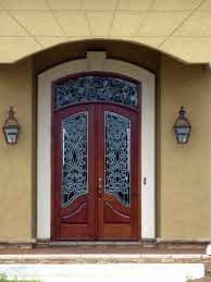 home interior arch designs front doors door ideas spanishcedar solid wood front door single