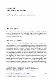 Childcare Cover Letter Example Migraine In The Elderly Springer