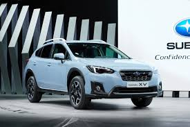 2017 subaru crosstrek black 2018 subaru xv is here with familiar looks new platform