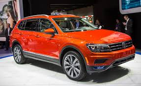 volkswagen sports cars 2018 volkswagen tiguan lwb photos and info u2013 news u2013 car and driver