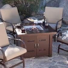 amazon com patio fire pit premium outdoor fire pit table patio