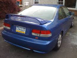 honda civic si 99 2000 blue honda civic si 99 stock needs minor work easy fix