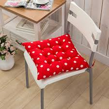 Dining Room Chair Seat Pads by Tie On Soft Chair Cushion Seat Pads Round Garden Dining Room