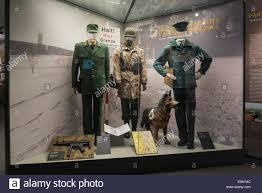 historic uniforms of german border and customs officers
