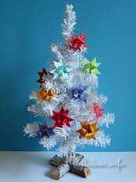 craft and decoration tree with german paper