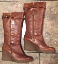 womens size 9 ugg boots ebay ugg australia leather wedge mid calf s boots ebay