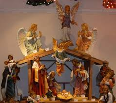 outdoor lighted nativity decoration sacharoff decoration