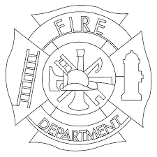 maltese cross fire department coloring pages batch coloring