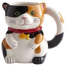 cat surprise mug pier 1 imports