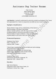 Soft Skills Trainer Resume Animal Trainer Resume Sales Trainer Lewesmr