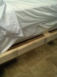 How To Make A Box Bed Frame Make Shift Bed Frame With Small Of Box Can Easily Hurt