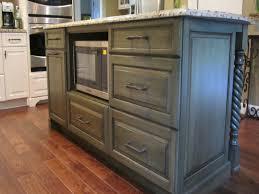 quartz countertops kitchen island with microwave lighting flooring
